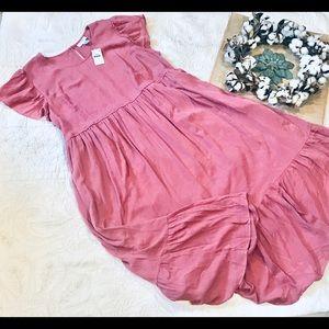 NWT Motherhood maternity Mauve dress size 3X
